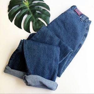 Vintage Rockies high waist zip front mom jeans